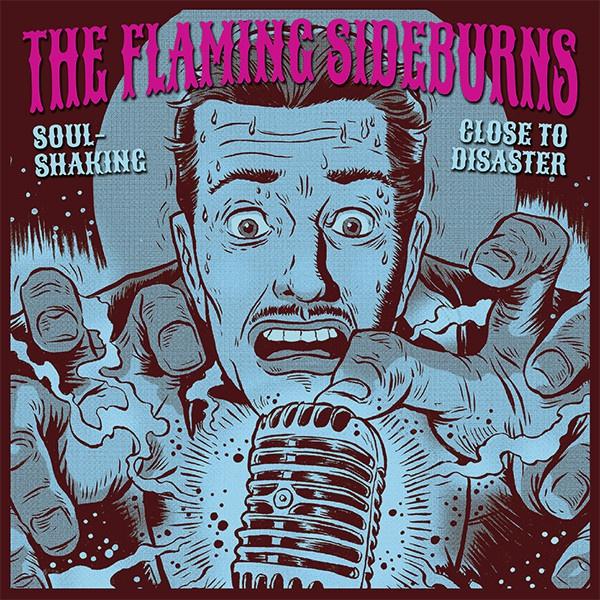 FLAMING SIDEBURNS, soulshaking cover