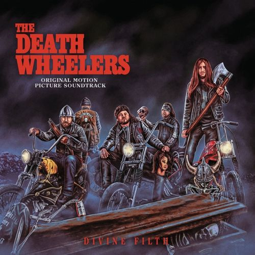 DEATH WHEELERS, divine filth cover