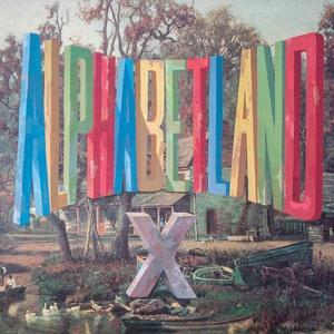X, alphabetland cover