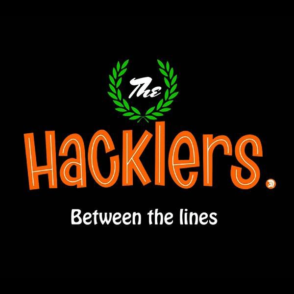 HACKLERS, between the lines cover