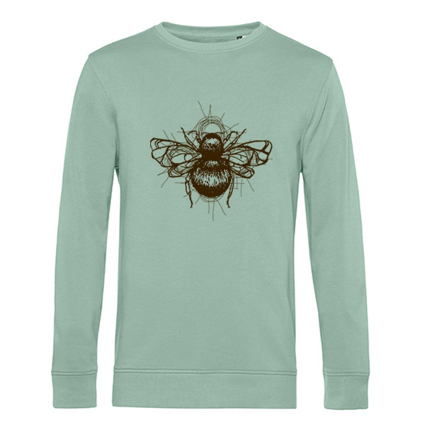 HUMMEL, bombus 2 (sweater), sage green cover