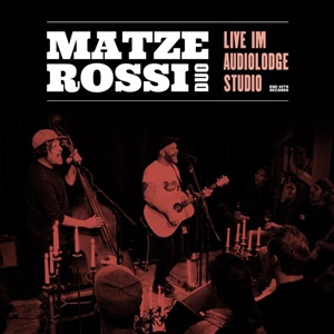 MATZE ROSSI, musik ist der wärmste mantel (live) - cyan vinyl cover