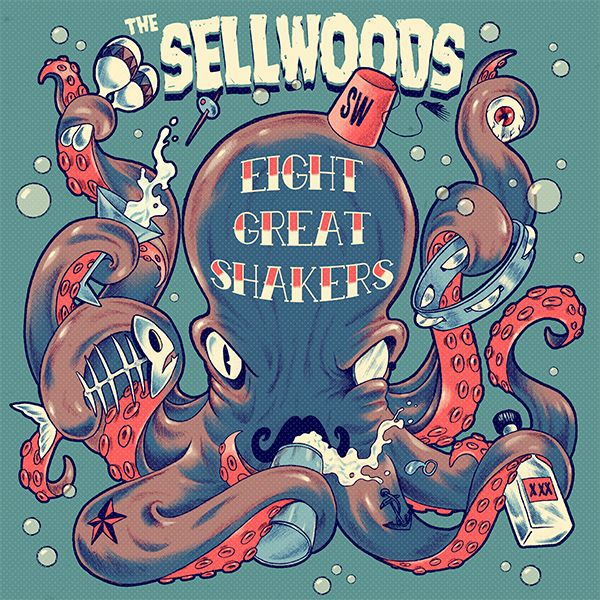SELLWOODS, eight great shakers cover