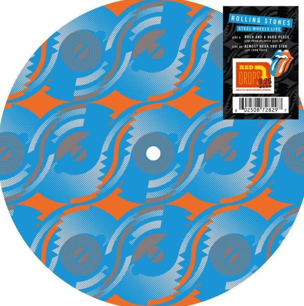 ROLLING STONES, steel wheels live RSD20 cover