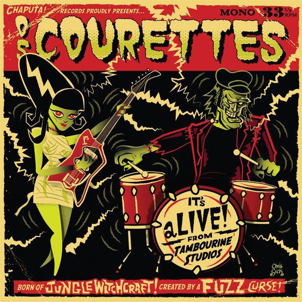 COURETTES, live at tambourine studios cover