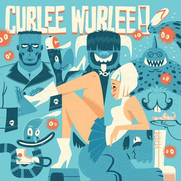CURLEE WURLEE, c´est destructif cover