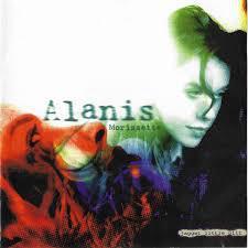 ALANIS MORISSETTE, jagged little pill cover