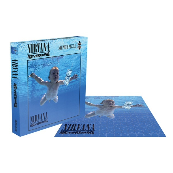 NIRVANA, nevermind (500 piece jigsaw puzzle) cover