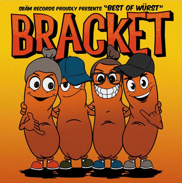 BRACKET, best of würst cover