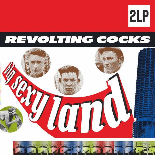 REVOLTING COCKS, big sexy land cover
