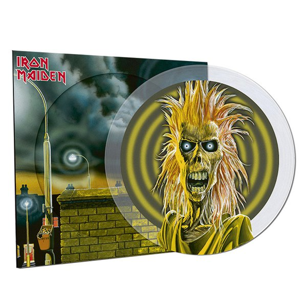 IRON MAIDEN, s/t (40th anniversary) cover
