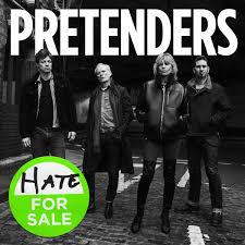 PRETENDERS, hate for sale cover