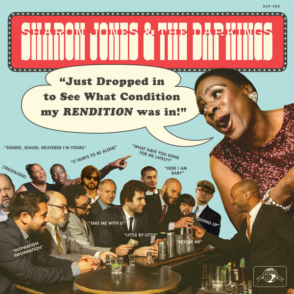 SHARON JONES & DAP KINGS, just dropped in... cover
