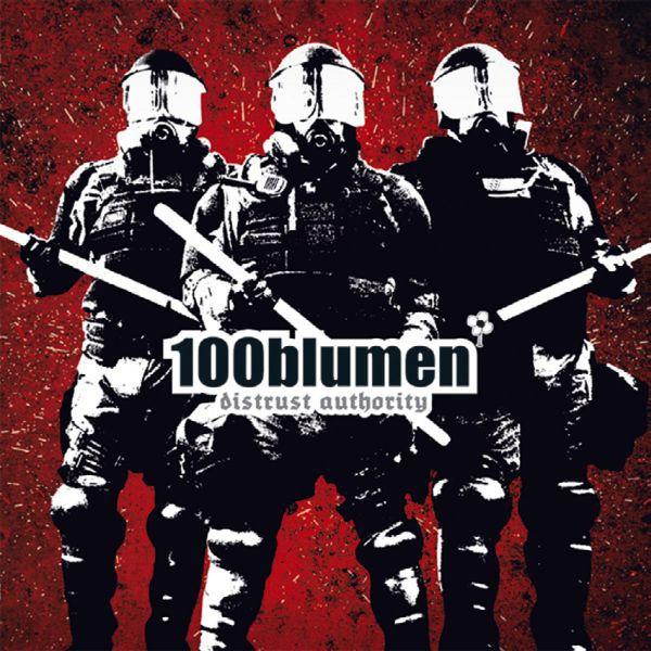 100BLUMEN, distrust authority cover