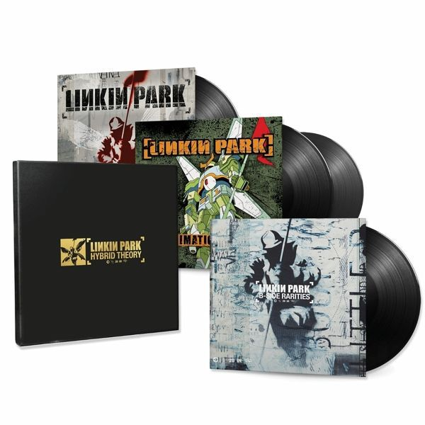 LINKIN PARK, hybrid theory (20th anniversary edition) cover