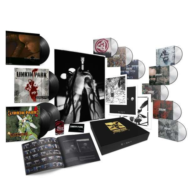 LINKIN PARK, hybrid theory (super deluxe 20th anniv. edition) cover