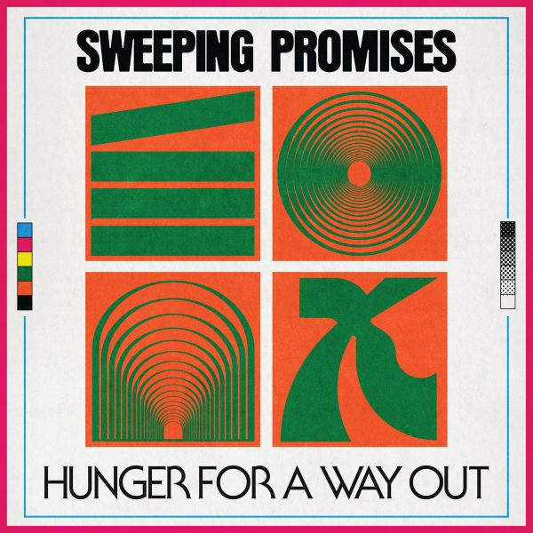 SWEEPING PROMISES, hunger for a way out cover