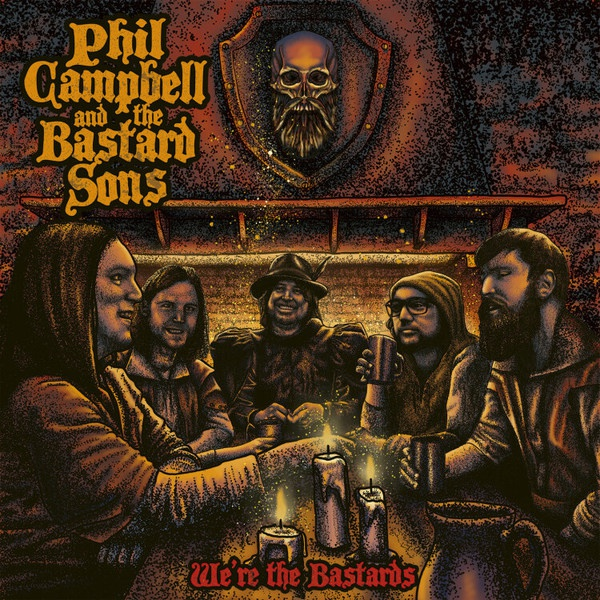 PHIL CAMPBELL AND THE BASTARD SONS, we´re the bastards cover