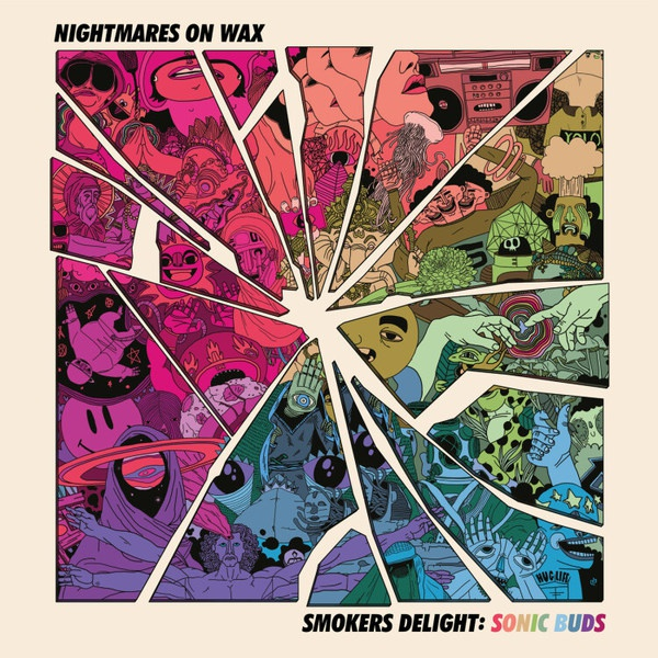 NIGHTMARES ON WAX, smokers delight: sonic buds cover