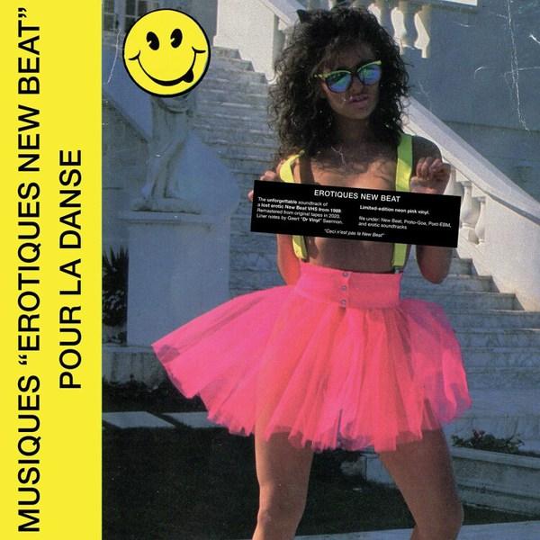V/A, erotiques new beat cover