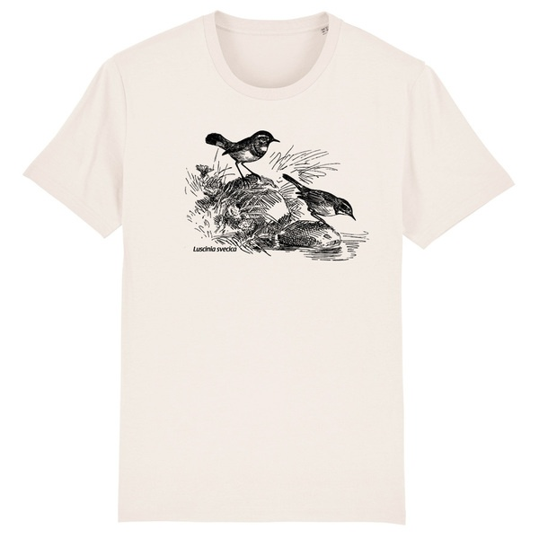BIRDSHIRT, blaukehlchen (boy), natural cover
