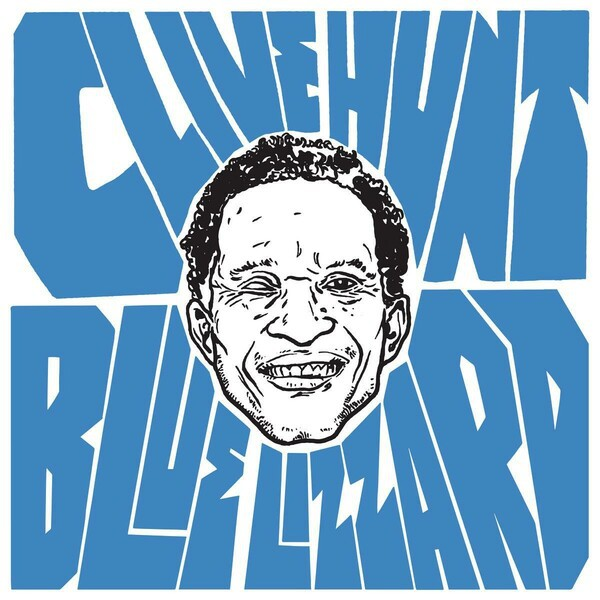 CLIVE HUNT, blue lizzard cover