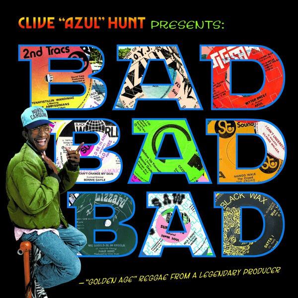 """CLIVE """"AZUL"""" HUNT, presents bad bad bad (1973-1976) cover"""