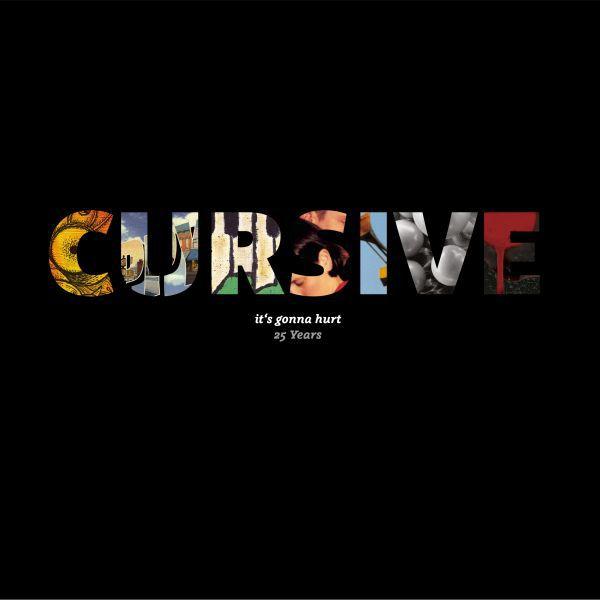 CURSIVE, it´s gonna hurt cover