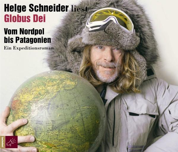 HELGE SCHNEIDER, liest globus dei -  vom nordpol bis patagonien cover