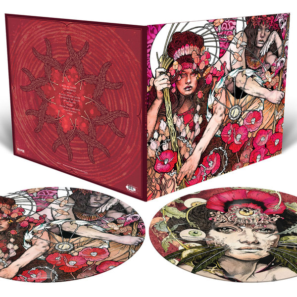BARONESS, red album (picture disk) cover