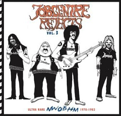 V/A, jobcentre rejects vol. 3 - ultra rare nwobhm 78-83 cover