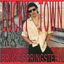 BRUCE SPRINGSTEEN, lucky town cover