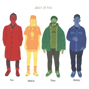 JOAN OF ARC, tim melina theo bobby cover