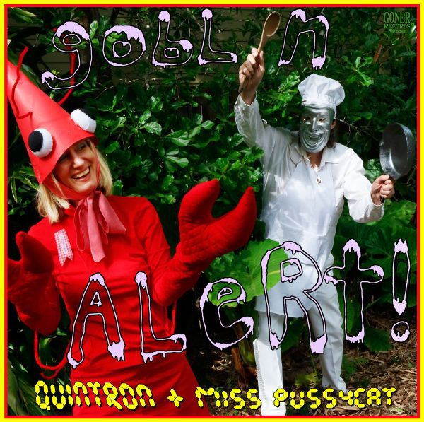 QUINTRON & MISS PUSSYCAT, goblin alert cover