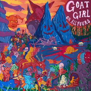 GOAT GIRL, on all fours cover
