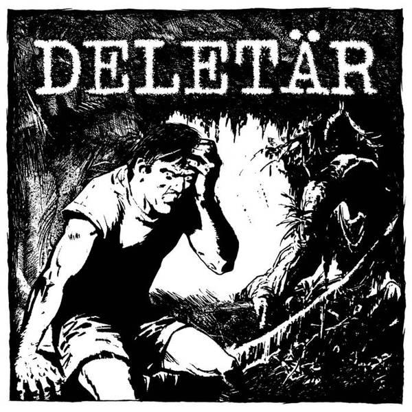 DELETÄR, s/t cover