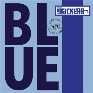 SLACKERS, blue cover