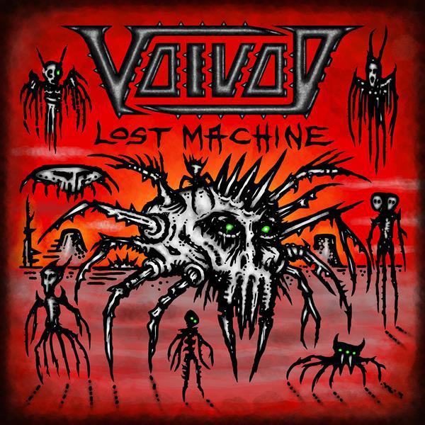 VOIVOD, lost machine - live cover