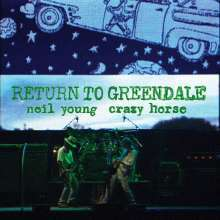 NEIL YOUNG & CRAZY HORSE, return to greendale cover