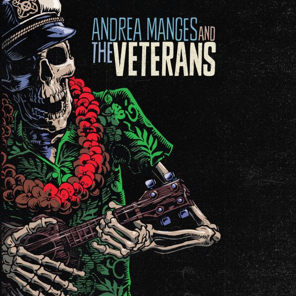ANDREA MANGES & THE VETERANS, s/t cover