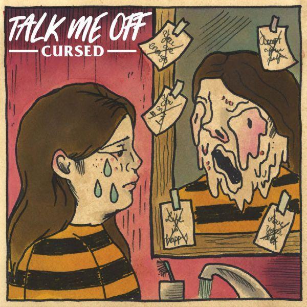 TALK ME OFF, cursed cover