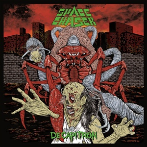 SPACE CHASER, decapitron (2020 remix) cover