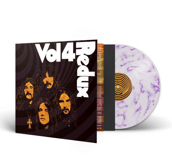 V/A (BLACK SABBATH), vol. 4 (redux) - white/purpur marble vinyl cover