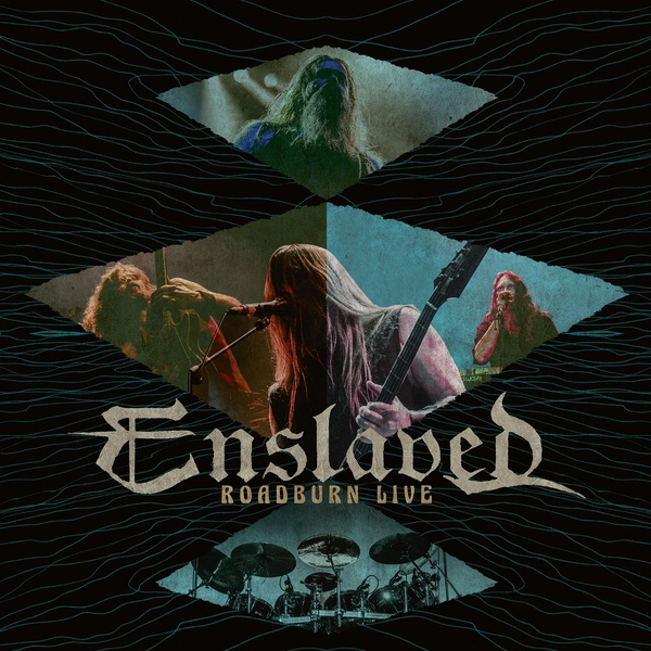 ENSLAVED, live at roadburn (rsd 2017 exclusive green vinyl) cover