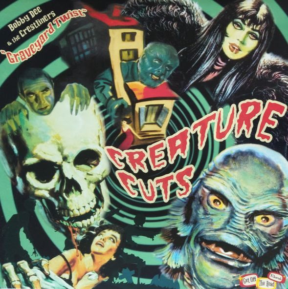 V/A, creature cuts vol.1 cover