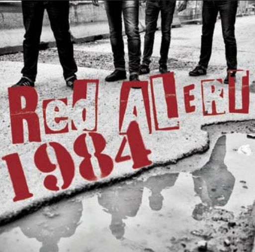 RED ALERT / 1984 (F), split cover
