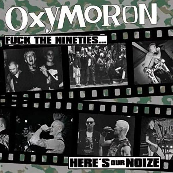 OXYMORON, fuck the 90s cover