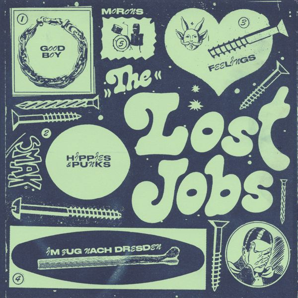 LOST JOBS, s/t ep cover