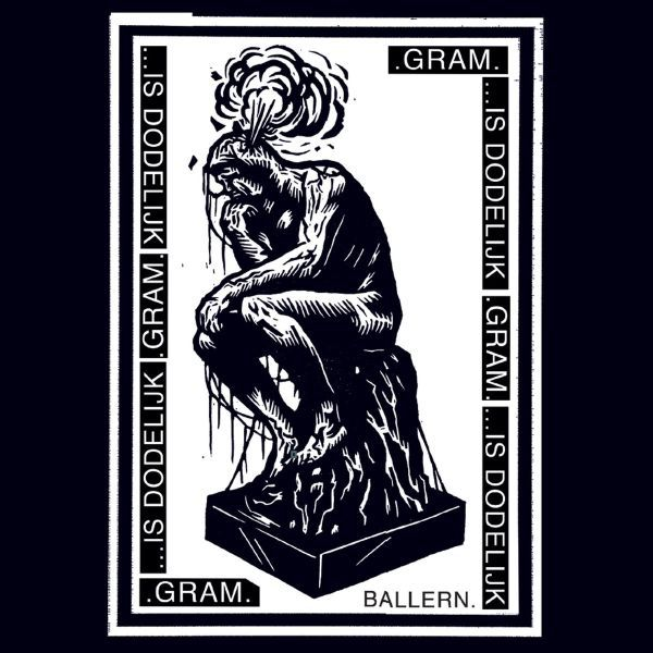 IS DODELIJK / .GRAM., split cover