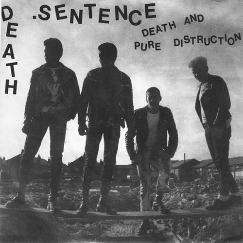 DEATH SENTENCE, death and pure distruction ep cover